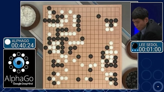 Image result for winning go board alpha go