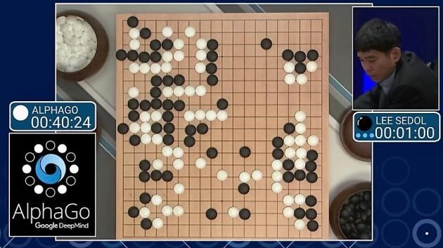 Image result for winning go board alpha go